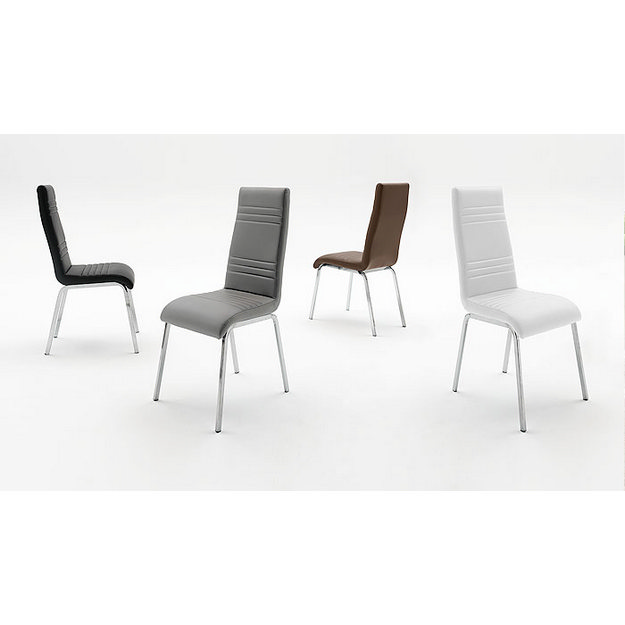 Dora fémvázas kárpitozott szék