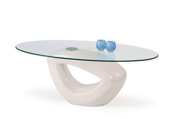 Jasmin dohányzó asztal üveglapos