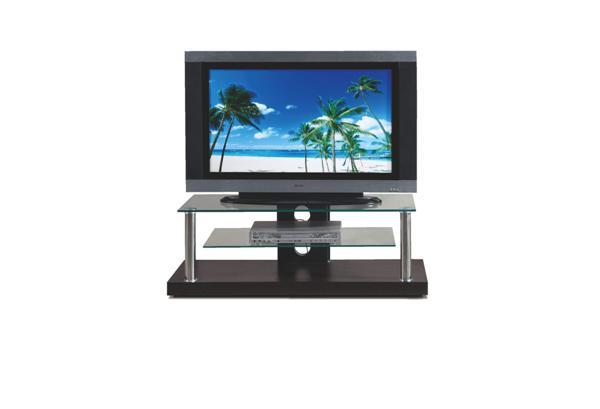 Stolik RTV-5 BIS Tv állvány wenge üveglapos 110x45x41 cm