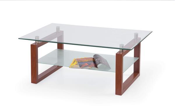 Erika dohányzó asztal üveglapos 110x6x45