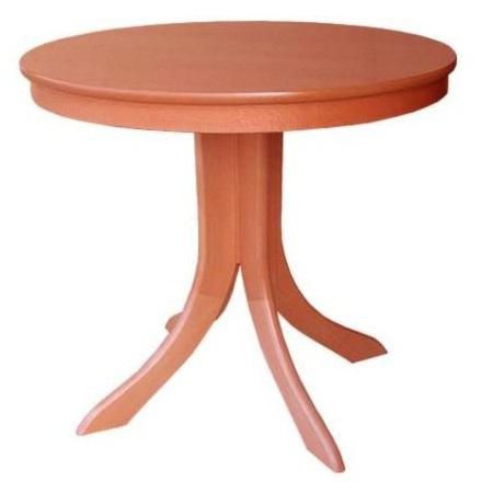Vera nagyobbitható kerek asztal  furnérozott 85/115
