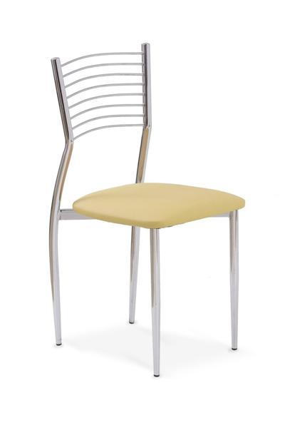 K-9 fémvázas szék, króm