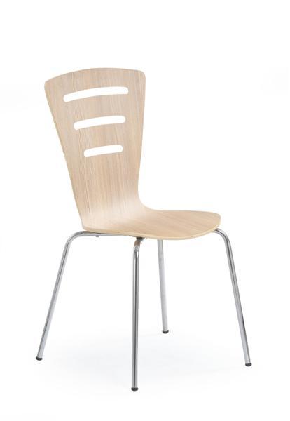 K-83 fémvázas szék, lemezelt, rakásolható