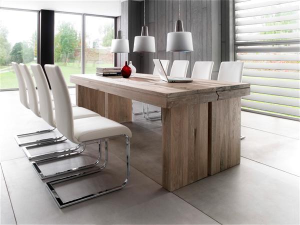 Dublin tömör tölgyfa asztal fix