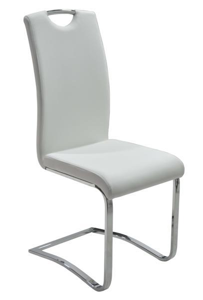 démvázas krómozott szék