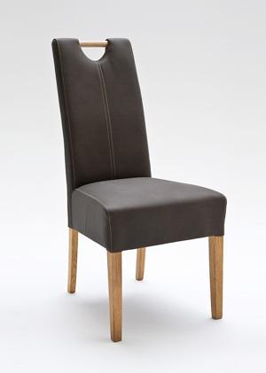 Elida fafogantyús kárpitozott szék