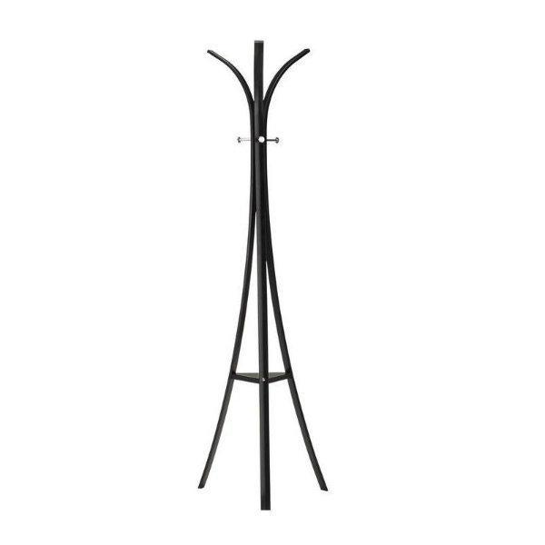 W-36 állófogas, fekete porszórt acél