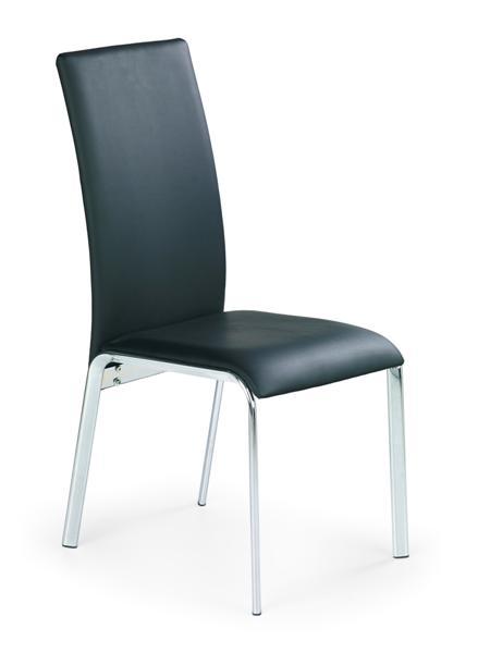 K-135 fémvázas szék, króm, textilbőr