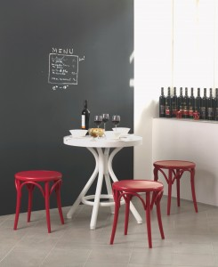 egyedi piros székek