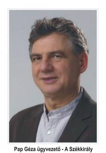 Pap Géza ügyvezető- A Székkirály