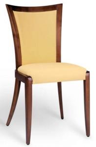 kárpítozott, támlás szék