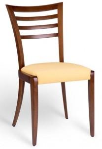 kárpitozott támlás szék