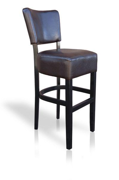 fekete bőr szék