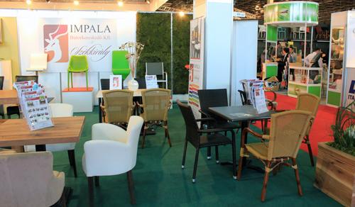Sirha Budapest kiállítás 2014. - Impala stand
