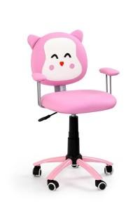 Kitty karfás gyermek forgószék, Hello Kittys textilbőr