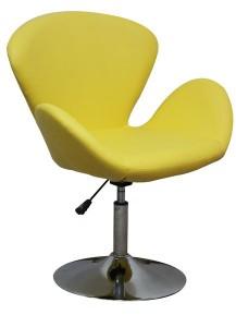 MF-6866 coctail fotel króm, sáfrány sárga