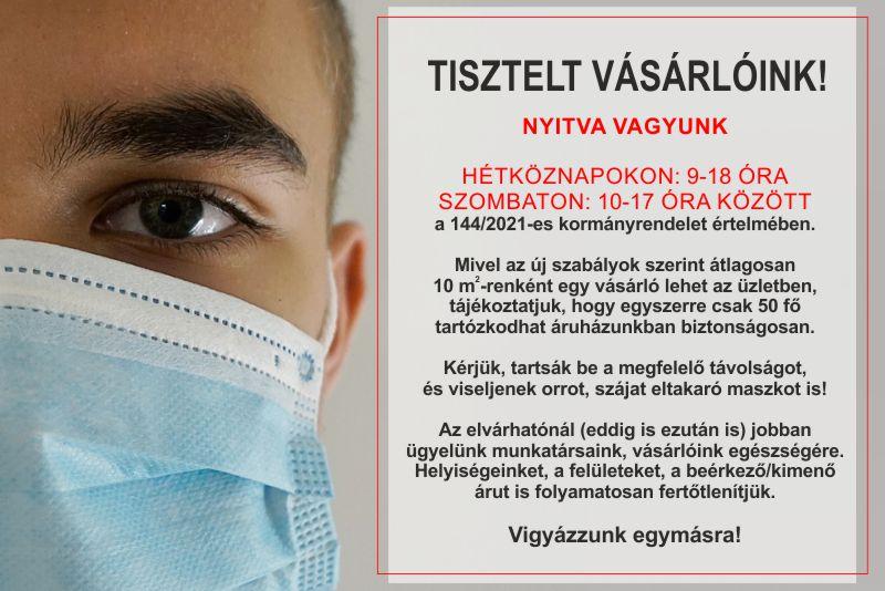 KORONAvírus tájékoztatás