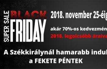 black friday a Székkirálynál