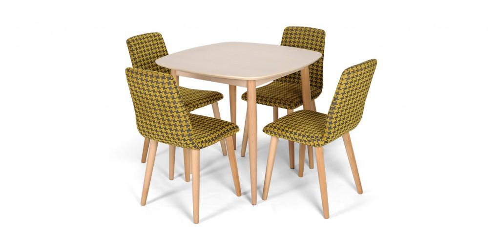 A mid century stílus új képviselője: a Tokyo étkezőasztal és Tokyo szék