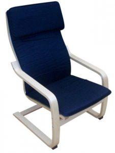 gyerek relax fotel kék