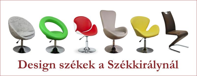 régi piros színű párnázott szék karfa nélküli