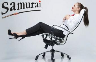 Új exkluzív irodai forgószékek a Székkirálynál - Ha még nem találta meg az Önnek megfelelő forgószéket, biztos lehet benne, hogy a Samurai székeket érdemes kipróbálni!