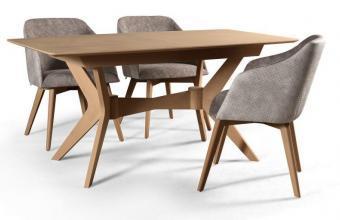 Általában minden lakásban jól mutat egy letisztult, modern stílusú nappali bútor vagy étkezőgarnitúra.