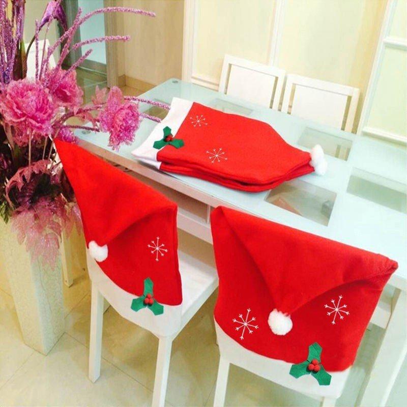Karácsonyi szék dekoráció
